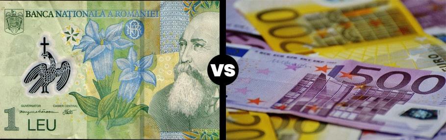 inteligenta financiara - ce simti despre bani - 1 leu vs 500 eur 200 euro