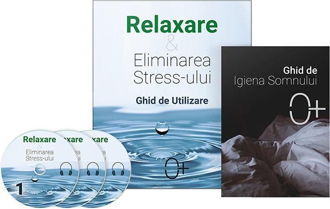 Relaxare si Eliminarea Stress-ului - coperta